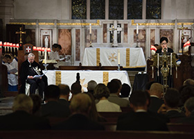 An Evening Prayer and Investiture by the Grand Prior was held in St. John's Cathedral, Hong Kong